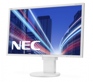 "Monitor LED 22"" NEC EA223WM WHITE"